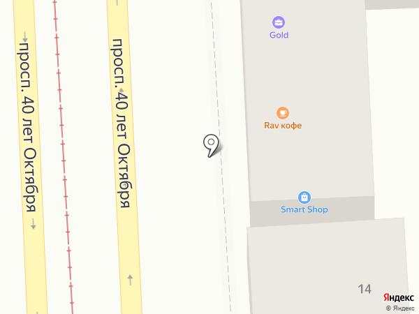 Gold на карте Пятигорска