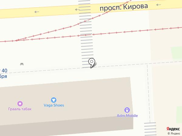 Деньги в Руки на карте Пятигорска