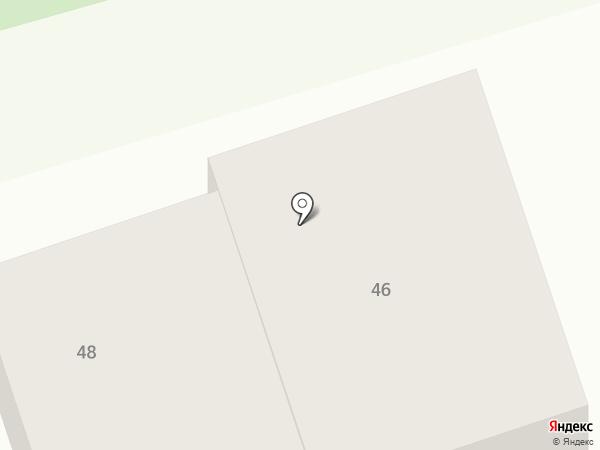 Александра на карте Пятигорска