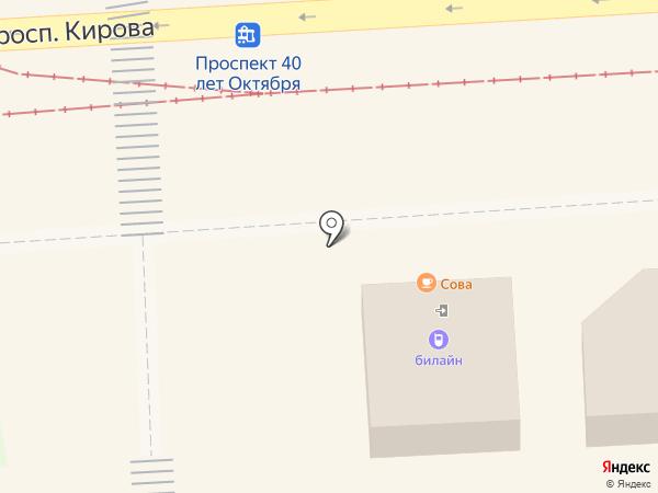 Евросеть на карте Пятигорска