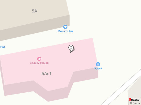 Домашние курочки на карте Пятигорска