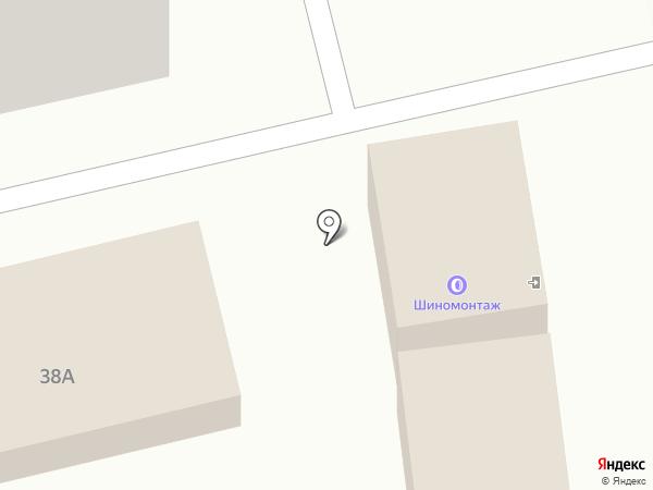 Живой родник на карте Пятигорска