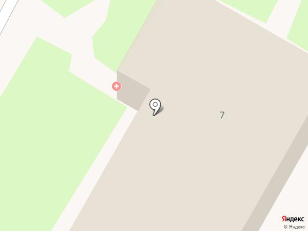 Пятигорская городская инфекционная больница на карте Пятигорска