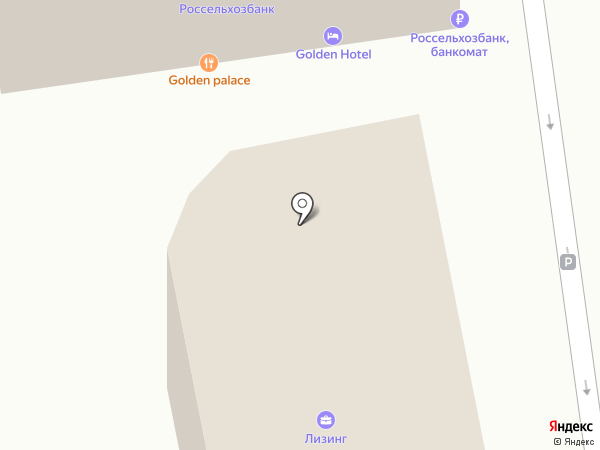 Чистюля на карте Пятигорска