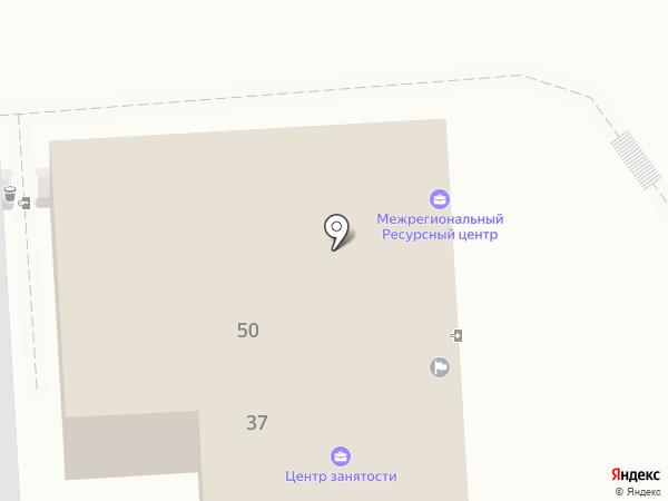Центр занятости населения г. Пятигорска на карте Пятигорска