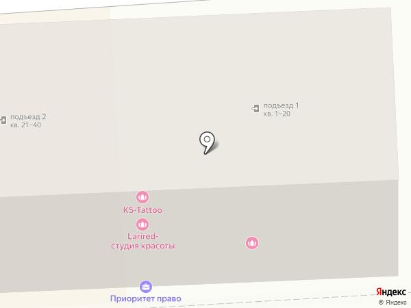 Росс Тур на карте Пятигорска