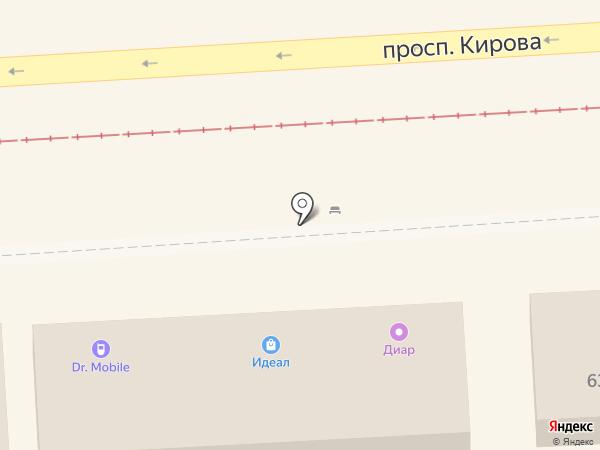 Мастерская по ремонту сотовых телефонов на карте Пятигорска
