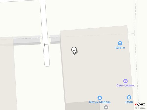 Розовый Слон на карте Пятигорска