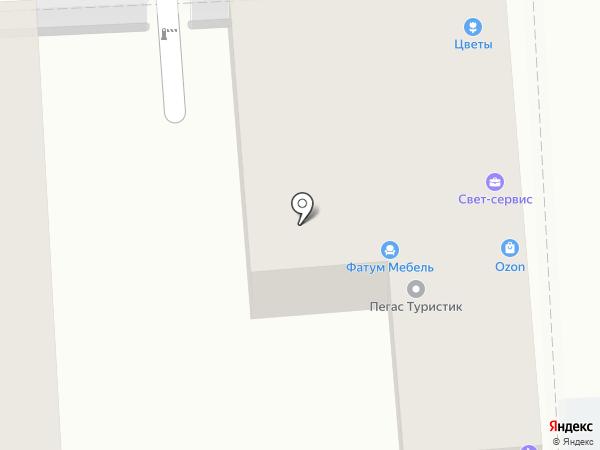 Апачи на карте Пятигорска