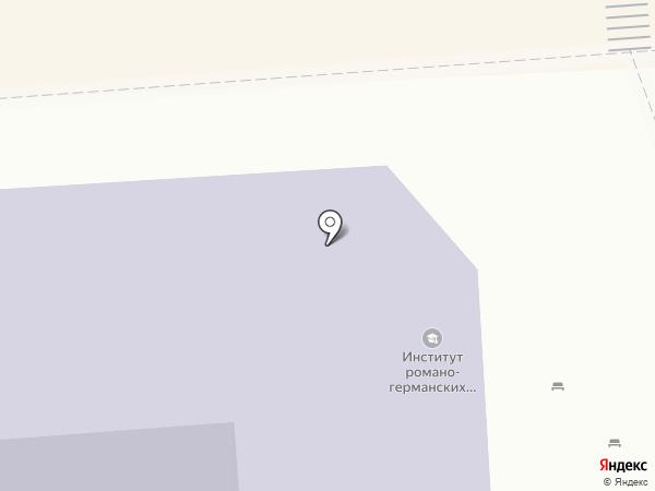 Пятигорский государственный университет на карте Пятигорска