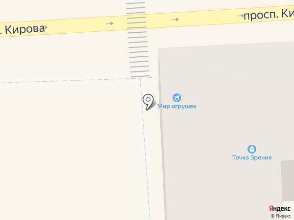 MODA.RU на карте Пятигорска