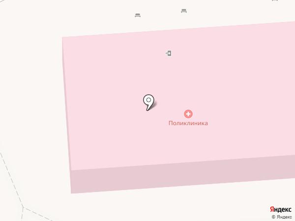 Консультативная поликлиника на карте Пятигорска