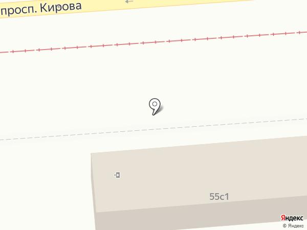 Адмирал на карте Пятигорска