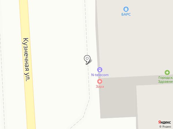 Н-ТЕЛЕКОМ на карте Пятигорска