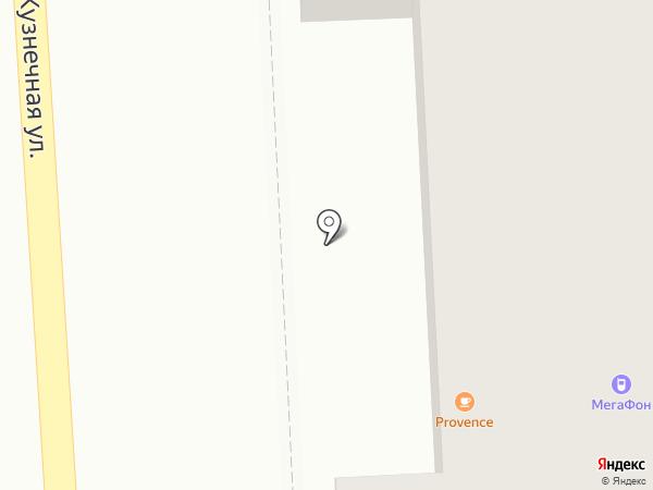 Феликс на карте Пятигорска