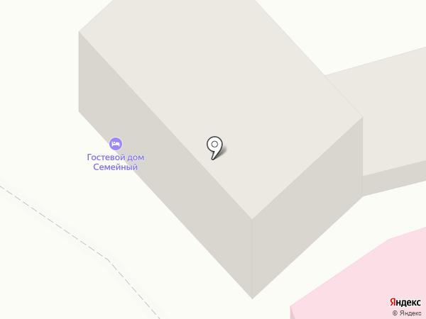 Окна-Юг на карте Пятигорска