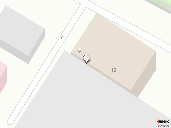 Эльравис на карте Пятигорска