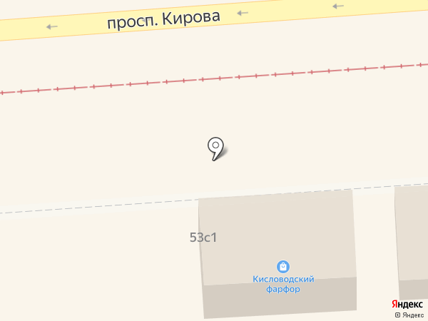 Elite boutique на карте Пятигорска
