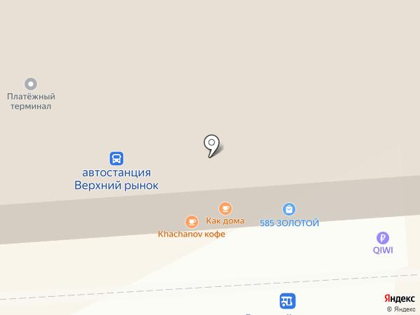 Как дома на карте Пятигорска
