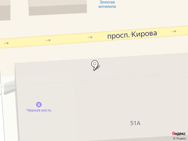 Содействие, ПК на карте Пятигорска