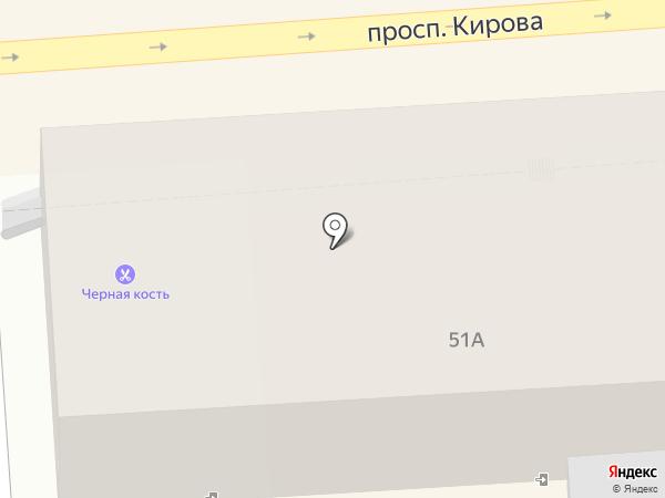 Содействие на карте Пятигорска