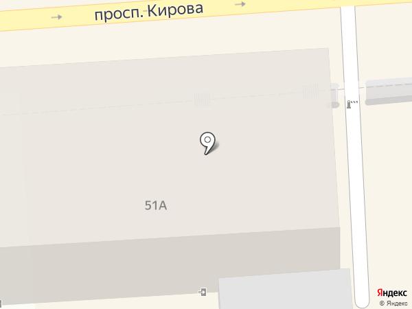 Золотая антилопа на карте Пятигорска