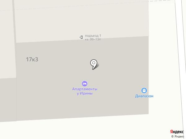 Диапазон на карте Пятигорска
