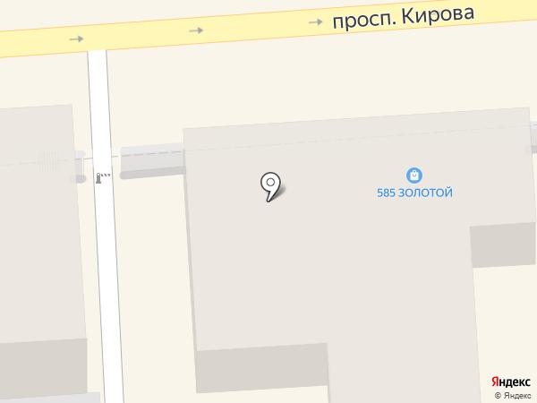 Атон люкс на карте Пятигорска