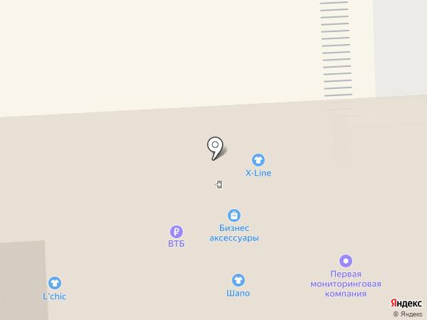Бутик часов и зонтов на карте Пятигорска