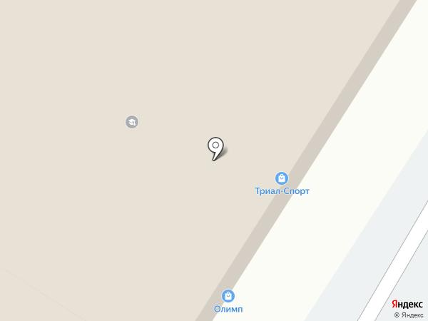 Триал-спорт на карте Пятигорска