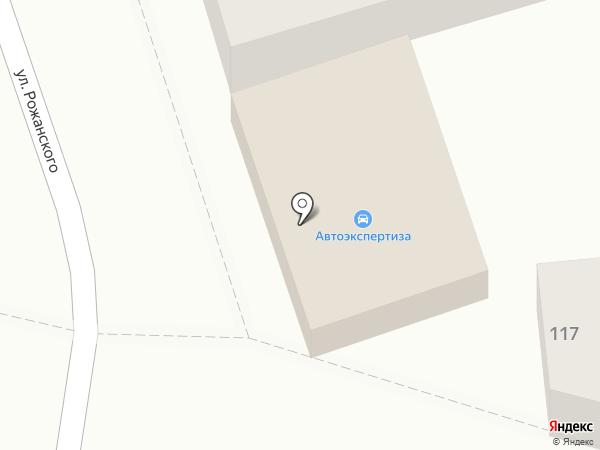 Магазин ритуальных принадлежностей на карте Пятигорска