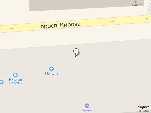 Мюнхен на карте Пятигорска