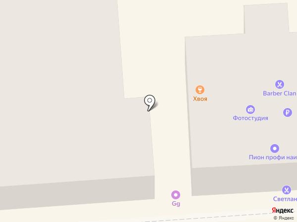 Центральная городская фотостудия на карте Пятигорска