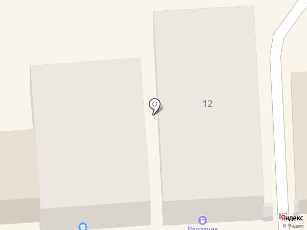 Радиация на карте Пятигорска