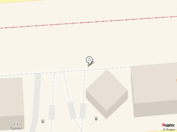 Кэш поинт на карте Пятигорска