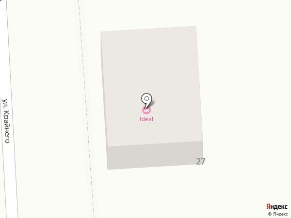 Юг на карте Пятигорска