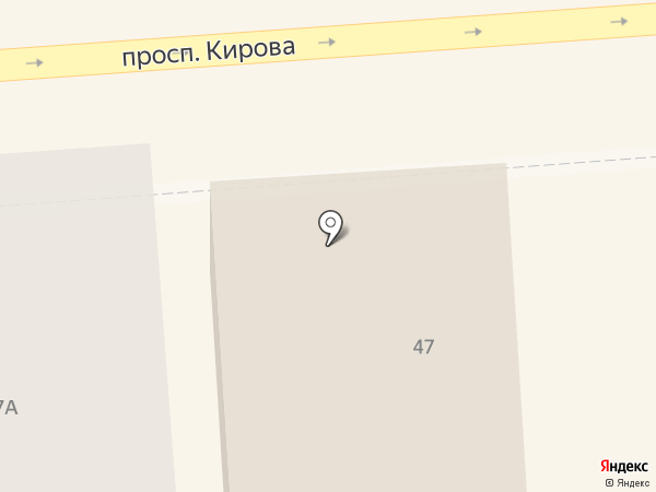 На Кирова на карте Пятигорска