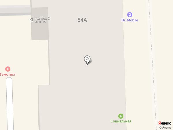 Subway на карте Пятигорска