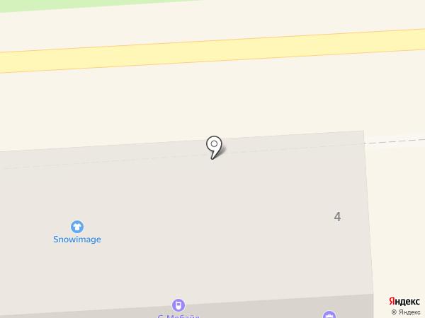 Вест на карте Пятигорска
