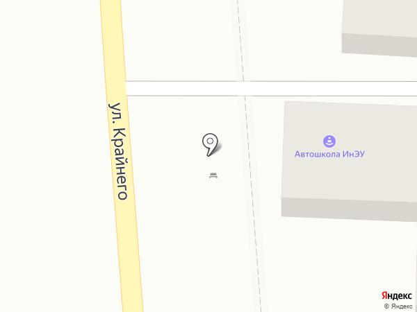 Очаг на карте Пятигорска
