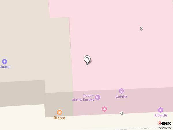 ЛИРА-ФАРМ на карте Пятигорска