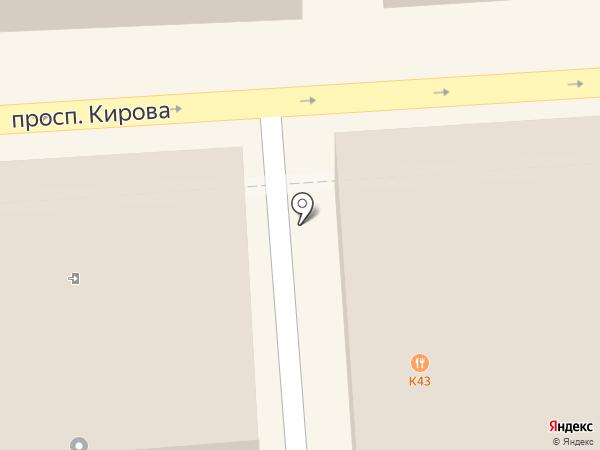Коммунистическая партия РФ на карте Пятигорска