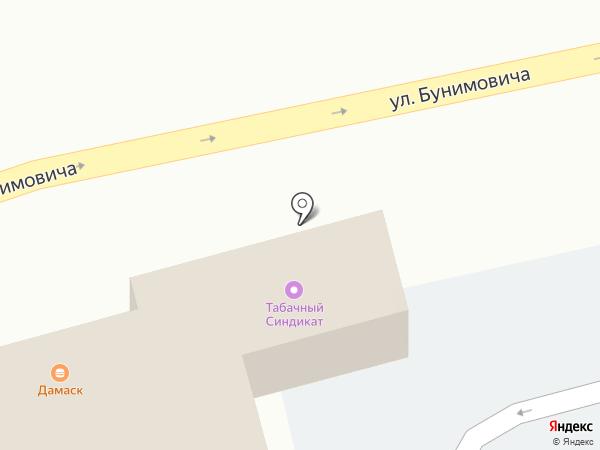 Магазин табачной продукции на карте Пятигорска