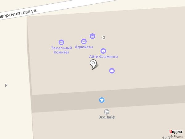 Модуль на карте Пятигорска