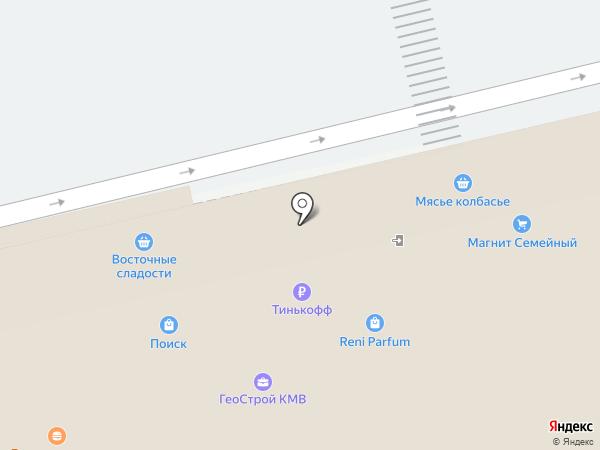 Юлмарт на карте Пятигорска