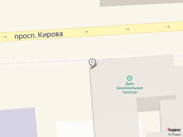 О-ля-ля на карте Пятигорска