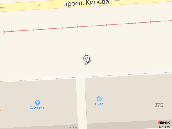 Candy shop на карте Пятигорска
