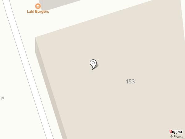 Лакия на карте Пятигорска