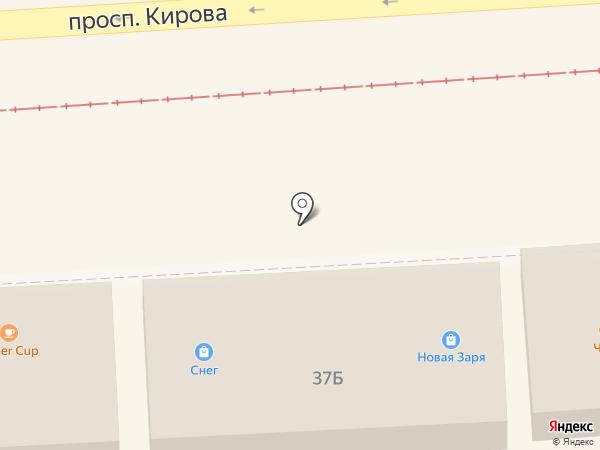 НОВАЯ ЗАРЯ на карте Пятигорска