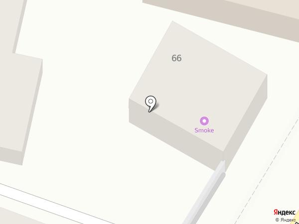 Велл на карте Пятигорска